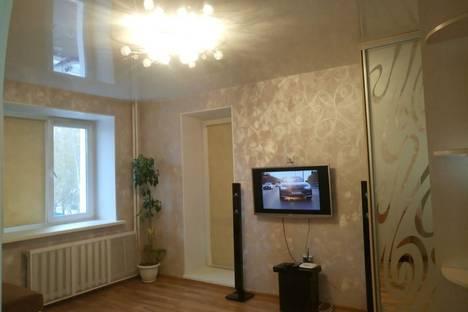 Сдается 1-комнатная квартира посуточно в Томске, ул. Суворова, 12.