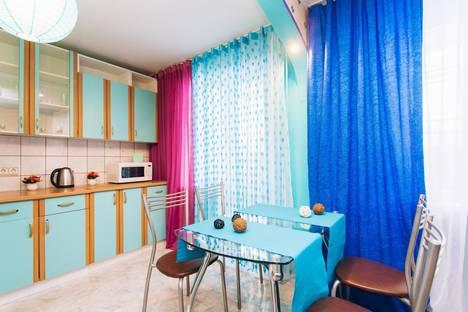 Сдается 2-комнатная квартира посуточно в Екатеринбурге, улица Академика Бардина, 2/1.