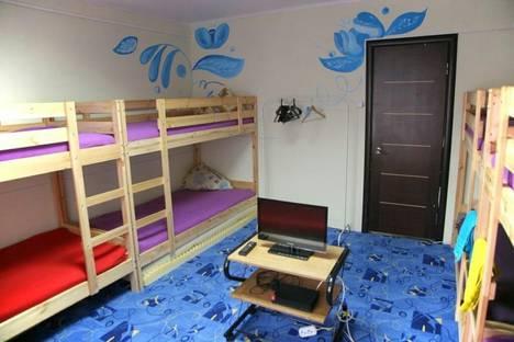Сдается 4-комнатная квартира посуточно в Красноярске, улица Молокова, 17.