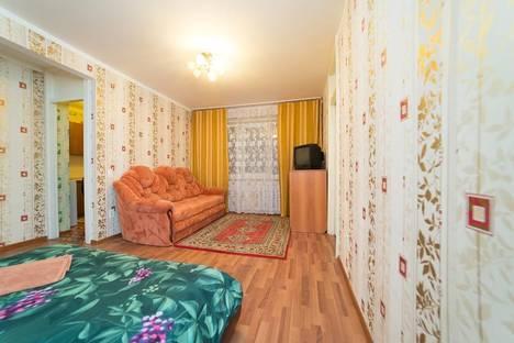 Сдается 2-комнатная квартира посуточно в Челябинске, улица Клары Цеткин, 30.