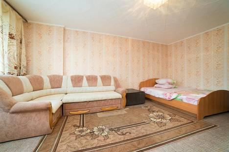 Сдается 1-комнатная квартира посуточно в Челябинске, ул. Сони Кривой, 51А.