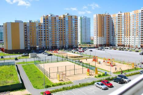 Сдается 1-комнатная квартира посуточнов Тюмени, ул. Николая Федорова, 17.