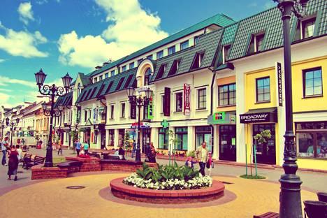 Сдается 1-комнатная квартира посуточно в Бресте, улица Советская, 71 Брестский Арбат.