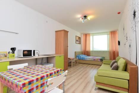 Сдается 1-комнатная квартира посуточнов Екатеринбурге, улица Степана Разина, 2.