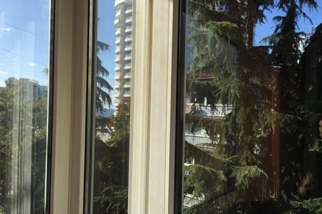 Сдается 1-комнатная квартира посуточнов Сочи, улица Нагорная, 12.