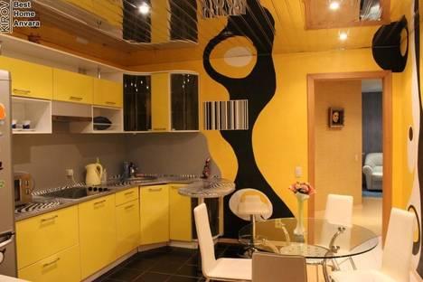 Сдается 2-комнатная квартира посуточно в Кирове, улица Горького 25/1.