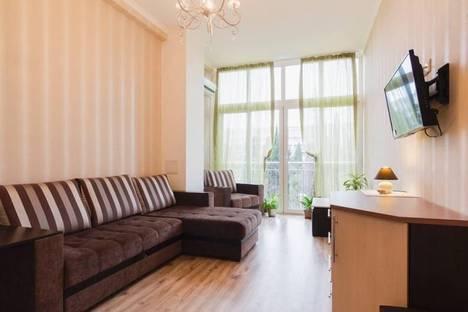 Сдается 1-комнатная квартира посуточнов Сочи, Курортный проспект 75 к 1, кв 137.