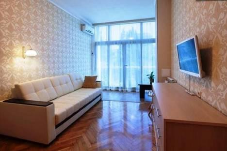 Сдается 1-комнатная квартира посуточно в Сочи, Курортный проспект 75 к1, кв 65.