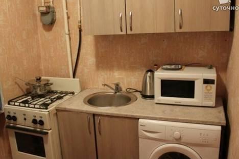 Сдается 1-комнатная квартира посуточно в Бишкеке, 5 микрорайон 2дом.