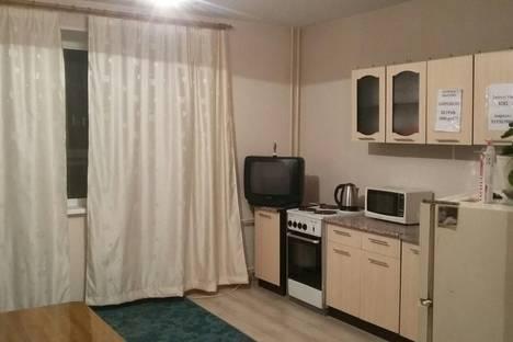 Сдается 1-комнатная квартира посуточно в Челябинске, Краснопольский проспект, 9.