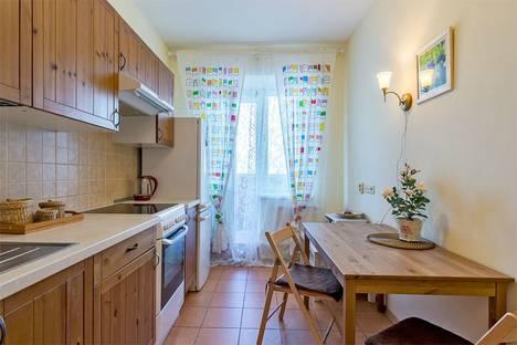 Сдается 1-комнатная квартира посуточно в Санкт-Петербурге, город Коломяжский проспект, 15к1.