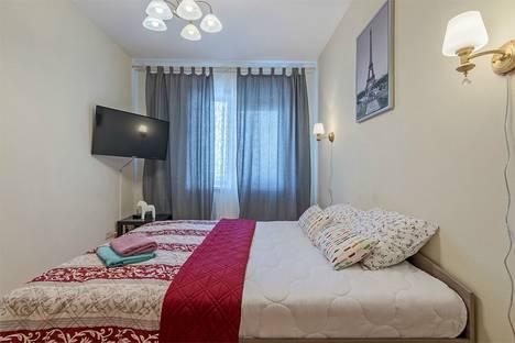 Сдается 1-комнатная квартира посуточново Всеволожске, город Коломяжский проспект, 15к1.