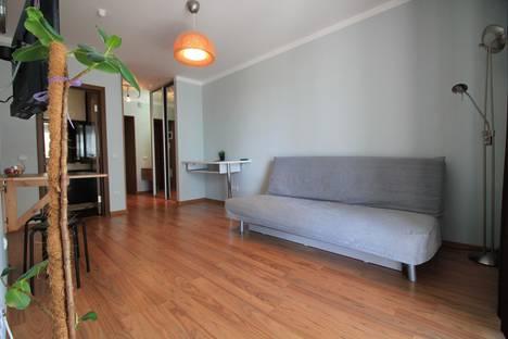 Сдается 1-комнатная квартира посуточнов Тюмени, улица Эрвье 24/1.