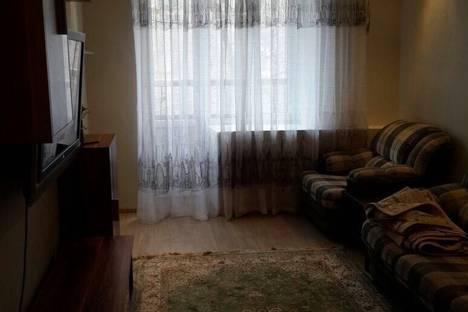 Сдается 2-комнатная квартира посуточно в Алматы, Абая 20/17.