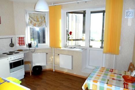 Сдается 1-комнатная квартира посуточнов Санкт-Петербурге, ул. Валерия Гаврилина, 3к2.
