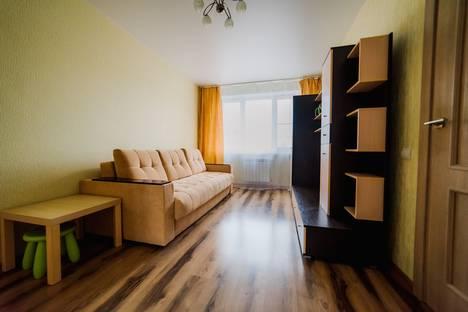 Сдается 1-комнатная квартира посуточнов Чебоксарах, улица Ивана Франко, 7.