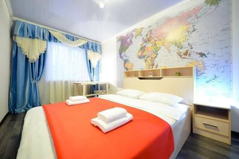 Сдается 2-комнатная квартира посуточно в Челябинске, улица Сони Кривой, 61.