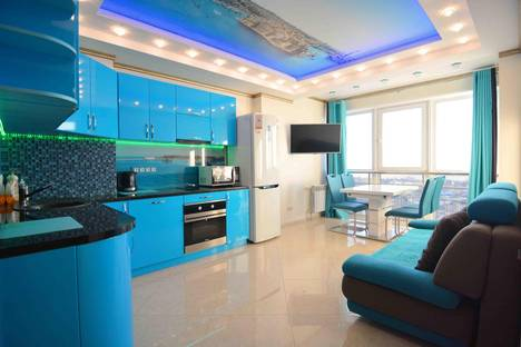 Сдается 2-комнатная квартира посуточнов Хабаровске, улица Салтыкова-Щедрина 83.