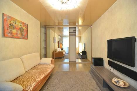 Сдается 2-комнатная квартира посуточнов Хабаровске, улица Постышева, 25.