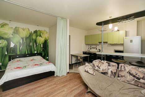 Сдается 1-комнатная квартира посуточно в Новосибирске, улица Галущака 4.