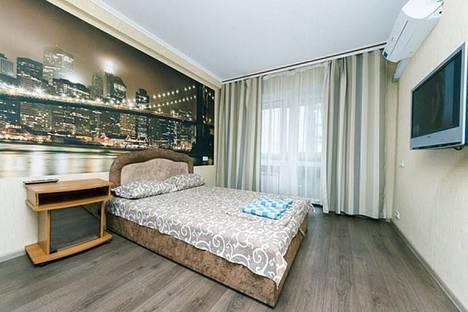 Сдается 1-комнатная квартира посуточнов Омске, проспект Комарова 17 2.