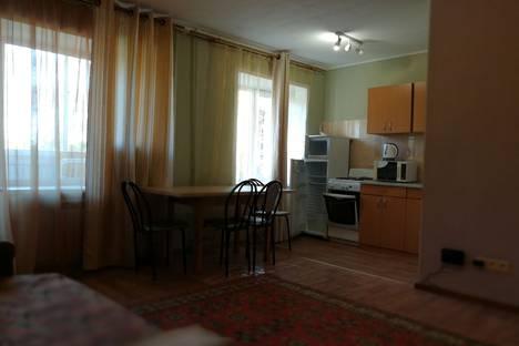 Сдается 3-комнатная квартира посуточно в Новосибирске, улица Новогодняя, 4/1.