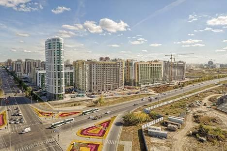 Сдается 1-комнатная квартира посуточно в Астане, проспект Кабанбай Батыра 46.