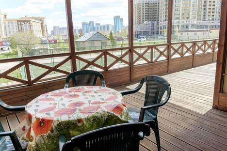 Сдается 2-комнатная квартира посуточно в Астане, проспект Туран 14/1.