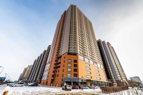 Сдается 1-комнатная квартира посуточно в Астане, улица Ахмета Байтурсунова 9.