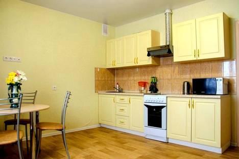 Сдается 1-комнатная квартира посуточнов Тюмени, Харьковская улица, 65.