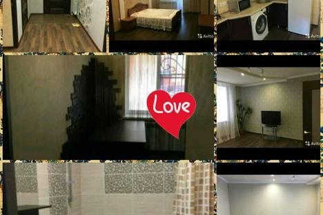 Сдается 2-комнатная квартира посуточново Владикавказе, улица В. Балаева, 5.