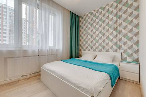 Сдается 2-комнатная квартира посуточно в Химках, улица 9-го Мая 4А кор 1.