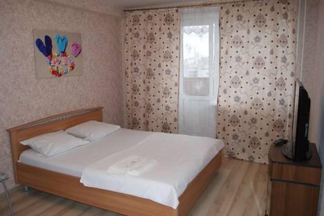 Сдается 1-комнатная квартира посуточнов Ижевске, улица Сабурова, 17.