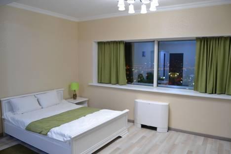 Сдается 2-комнатная квартира посуточно в Астане, ЖК Северное сияние, Достык 5.