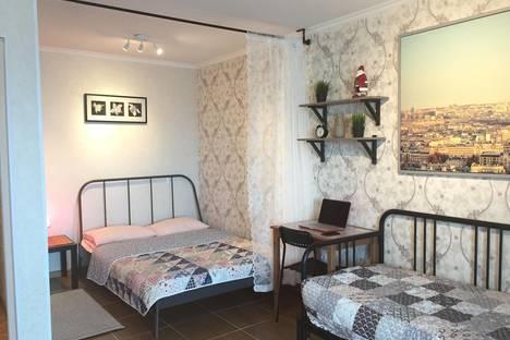 Сдается 1-комнатная квартира посуточно в Астане, улица Желтоксан,12.