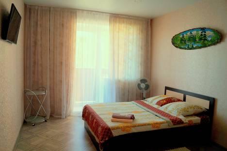 Сдается 1-комнатная квартира посуточно в Озёрске, ул. Иртяшская 13.
