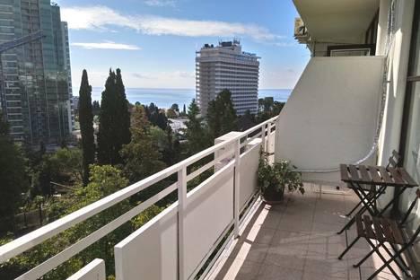 Сдается 2-комнатная квартира посуточно в Сочи, Курортный проспект 75 к.1.