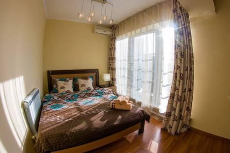 Сдается 3-комнатная квартира посуточно в Алматы, проспект Достык 44.