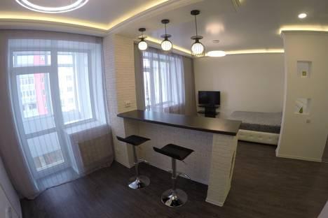 Сдается 1-комнатная квартира посуточно в Барнауле, Партизанская улица, 55.