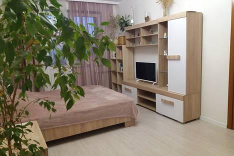 Сдается 1-комнатная квартира посуточно в Курске, проспект Победы 36.