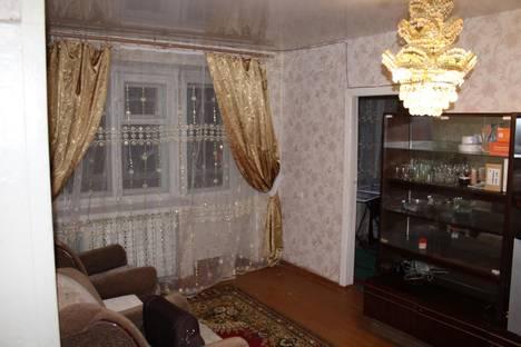 Сдается 2-комнатная квартира посуточно в Костроме, проспект Мира, 69А.