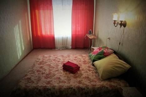 Сдается 2-комнатная квартира посуточнов Черногорске, п. Расцвет, ул. Фабричная, 10.