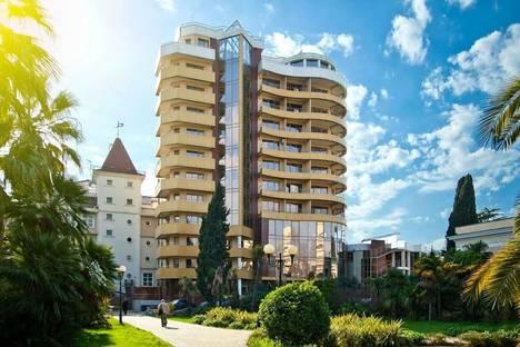Сдается 1-комнатная квартира посуточнов Сочи, улица Несебрская 14.