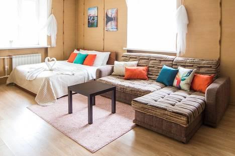 Сдается 1-комнатная квартира посуточно в Омске, К. Маркса проспект, 34.