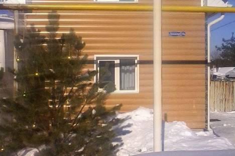 Сдается коттедж посуточно в Челябинске, пос. Шершни, улица Ленина 54а.