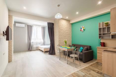 Сдается 1-комнатная квартира посуточнов Сочи, Адлер, улица Станиславского,11.