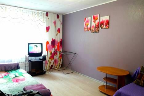 Сдается 1-комнатная квартира посуточно, улица Ленинградская, 56Б.