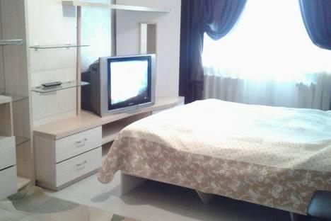 Сдается 1-комнатная квартира посуточно в Алматы, улица Абая/ Алтынсарина 11.