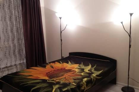 Сдается 1-комнатная квартира посуточнов Уфе, проспект Октября д.164.