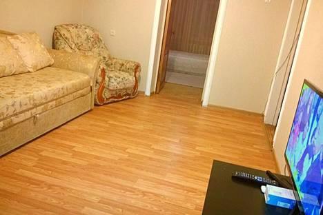Сдается 2-комнатная квартира посуточно в Нальчике, проспект Кулиева, 7.